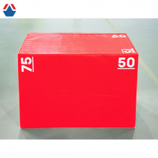 Безопасная тумба для запрыгиваний 75-60-50 (плиобокс)
