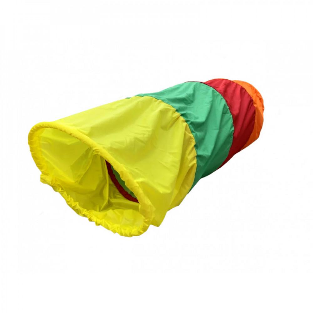 Тоннель для лазания разноцветный (L=2000mm D=740mm)