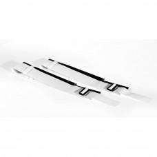 "Карманы для антенн ""EL LEON DE ORO"" арт.94995001499, ПВХ,на липучках, для классич. волейб., бел-черн"
