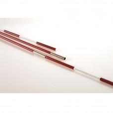 """Антенны вол. разборные """"EL LEON DE ORO"""" арт.94199900099, под карманы, 1.8 м, фиберглас, красно-белые"""