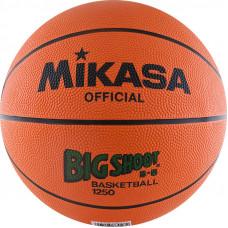 "Мяч баск. ""MIKASA 1250"" р. 5, резина, нейл.корд, бут.кам., оранжево-черный"