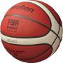 "Мяч баск. ""MOLTEN B6G5000"" р.6, FIBA Appr, 12 панелей, нат.кожа, бутил.камера, кор-беж-чер"