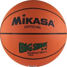 """Мяч баск. """"MIKASA 1159""""  р.6, бут.кам, нейл.корд, оранжево-черный"""
