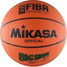 "Мяч баск. ""MIKASA 1150""  р.7, резина, FIBA III категории, бут.кам, нейл.корд, оранж-чер"
