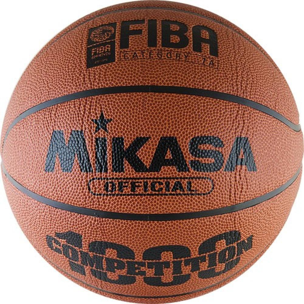 """Мяч баск. """"MIKASA BQ1000"""" р.7, композ.синт.кожа (микрофибра),FIBA Appr,нейл.корд,бут.кам,кор-ор-чер"""
