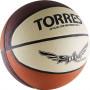 """Мяч баск. """"TORRES Slam"""" арт.B00067, р.7, резина, нейлон. корд, бут. кам, бежево-бордово-оранж"""