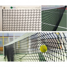 """Сетка теннисн. """"EL LEON DE ORO"""", арт.13443004501, нить 3мм ПП, верх.лента ПП,черный"""