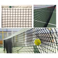 """Сетка теннисн. """"EL LEON DE ORO"""", арт.13444504501, нить 4мм ПП, верх.лента ПП, черный"""