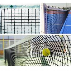 """Сетка теннисн. """"EL LEON DE ORO"""", арт.13444004501, нить 4 мм ПП, верх.лента ПП, черный"""