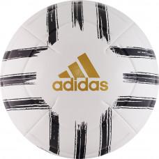 """Мяч футб. """"ADIDAS Juve Club""""арт.GH0064,р.5, 2 пан, ТПУ, маш.сш., бело-черно-золотой"""