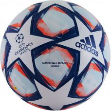 "Мяч футб. ""ADIDAS Finale 20 Lge"" арт. FS0256, р.4, ТПУ, 32 пан., термосшивка, бело-синий"