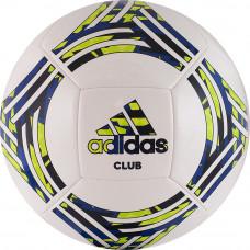 "Мяч футб. ""ADIDAS Tango Club""арт.GH0065,р.5, 14 пан, ТПУ, маш.сш., бело-сине-зеленый"