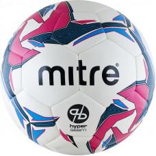 "Мяч футзал. ""MITRE Pro Futsal HyperSeam"" арт.BB1351WG7, р.4, 32 пан, ПУ, гибридн.сш, бел-гол-роз"