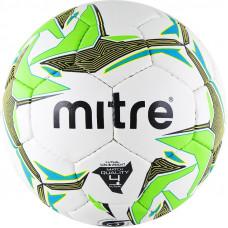"Мяч футзал. ""MITRE Futsal Nebula"" арт.BB1350WBG, р.4, ПУ, руч.сш, бел-зел-гол-желт"