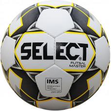 """Мяч футзал. """"SELECT Futsal Master"""" арт. 852508-051, р.4, IMS, 32 пан, мат.ПУ, руч.сш, бел-желт-черн"""