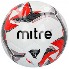 """Мяч футзал. """"MITRE Futsal Tempest II"""" арт.BB9302WYI,р.4, 32 пан, ПВХ, руч.сш, бел-кр-черн"""