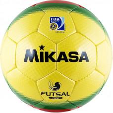 "Мяч футзал. ""MIKASA FL450"", р.4, FIFA Quality Pro, 32 пан, гл.ПУ, руч.сш, бут.кам, желто-крас-зел."