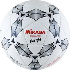 "Мяч футзал. ""MIKASA FSC-62E Europa"",р.4,32п, FIFA Quality (FIFA Inspected),гл.ПУ,руч.сш,бел-сер-крас"