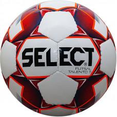 "Мяч футзал. ""SELECT Futsal Talento 11"" арт. 852616-003, р.Jr, 32п, ТПУ, руч.сш, бел-красн-оран"