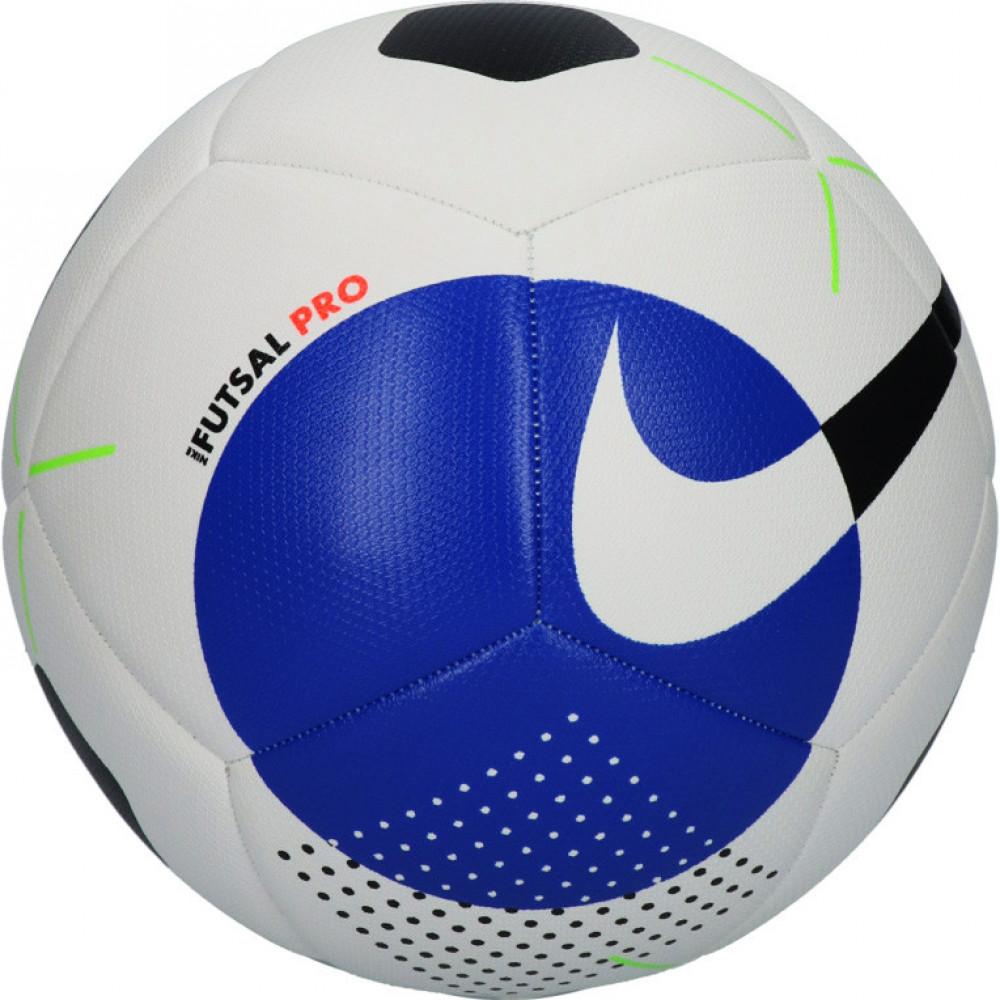 """Мяч футзал """"NIKE Pro"""" арт.SC3971-101, р.4, 12пан, мат. ТПУ, FIFA PRO, маш.сш, бело-черно-синий"""