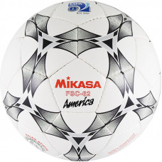 "Мяч футзал. ""MIKASA FSC-62 America"",р.4,мат.ПУ,32 п,бут.к,руч.сш,бел-сер-крас"