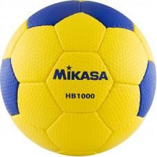 "Мяч гандб. ""MIKASA HB 1000"", синт.кожа, р. 1, руч. сшивка, желто-синий"