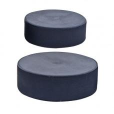 Шайба хоккейная оф.стандарт, арт.MR-XS75, диам. 75 мм, выс. 25 мм, вес 170гр, РОССИЯ, черная