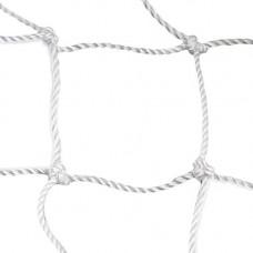 Сетка хоккейная любительская, арт.FS-H №2.0, a:1.85 b:1.25 c:0.7 d:1.3м, нить 2мм ПП, яч. 40 мм, бел