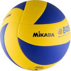 "Мяч вол. ""MIKASA MVA380K"", р 5, синт.кожа (ПВХ), 8 пан, клееный, сине-желтый"