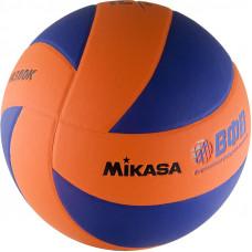 """Мяч вол. """"MIKASA MVA380K-OBL"""", р 5, синт.кожа (ПВХ), 8 пан, клееный, сине-оранжевый"""
