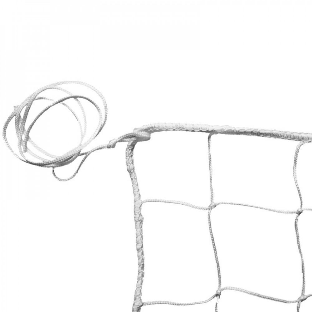 Сетка вол., арт.FS-V №0, бел., 9.5х1м, нить 3,5 мм ПП, яч. 10 см., без верх. ленты, без троса, бел