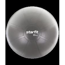Фитбол PRO GB-107, 55 см, 1100 гр, без насоса, серый, антивзрыв