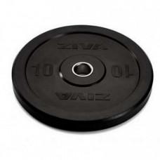 Диск бампированный ZIVA 25 кг серия Pro FЕ (резиновое покрытие)