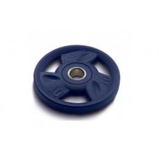 Диск олимпийский 10 кг ZIVA серии ZVO уретановое покрытие синий