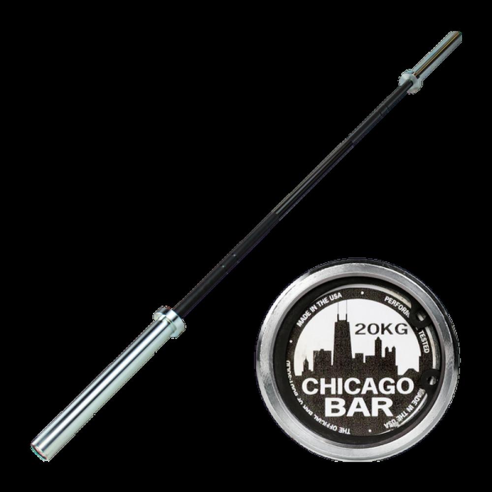 Гриф олмпийский с двойными марками 220 см BODY-SOLID CHICAGO