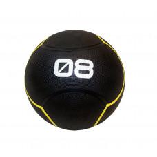 Мяч тренировочный черный 8 кг