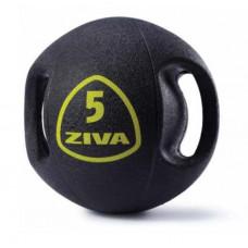 Набор из 5 набивных мячей Medball ZIVA с ручками 6-10 кг (шаг 1 кг)