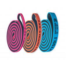 Набор из трех двуцветных эспандеров 208 см