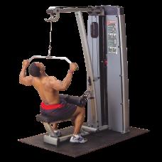 Двухпозиционный тренажер для спины: вертикальная-горизонтальная тяга Body-Solid DLAT-SF
