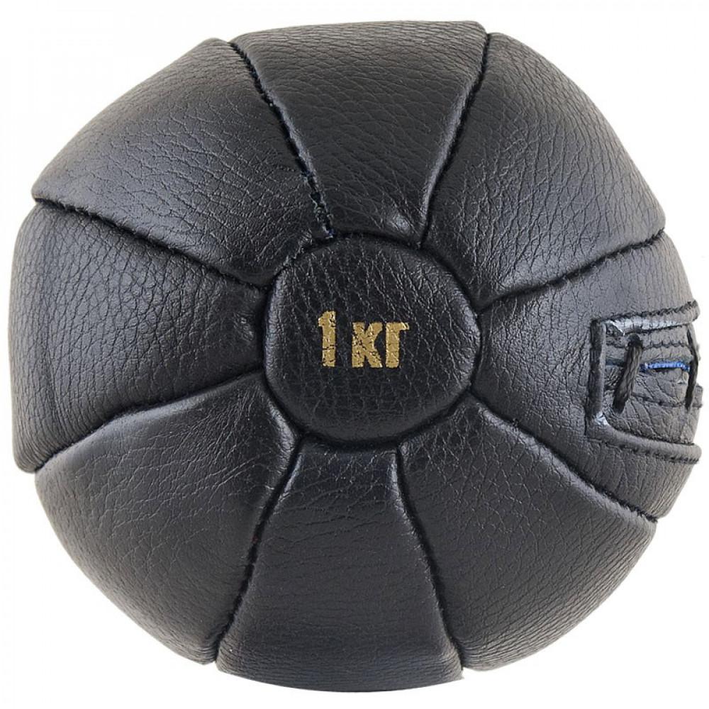 Медбол чёрный FS №1000 (1 кг.)