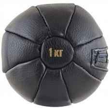 Медбол чёрный FS№1000 (1 кг.)