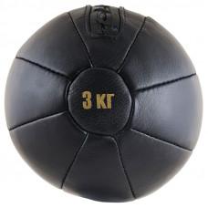 Медбол чёрный FS№3000 (3 кг.)
