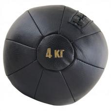 Медбол чёрный FS№4000 (4 кг.)