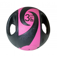 Мяч тренировочный с хватами 3 кг