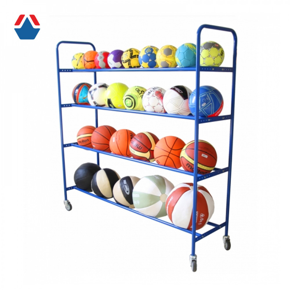 Тележка для мячей на колесиках