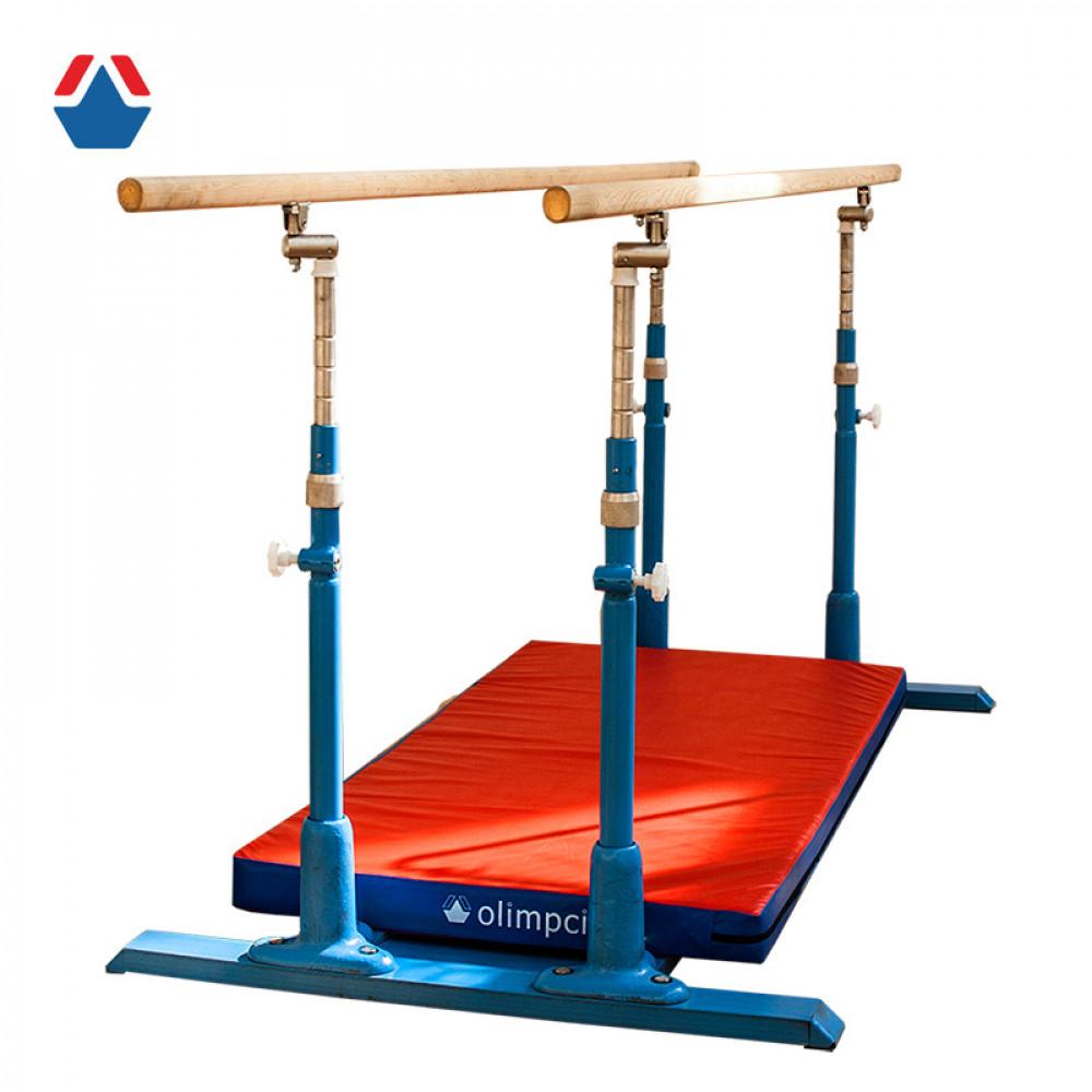 Мат для брусьев гимнастических параллельных 2130х430х60мм (тент)