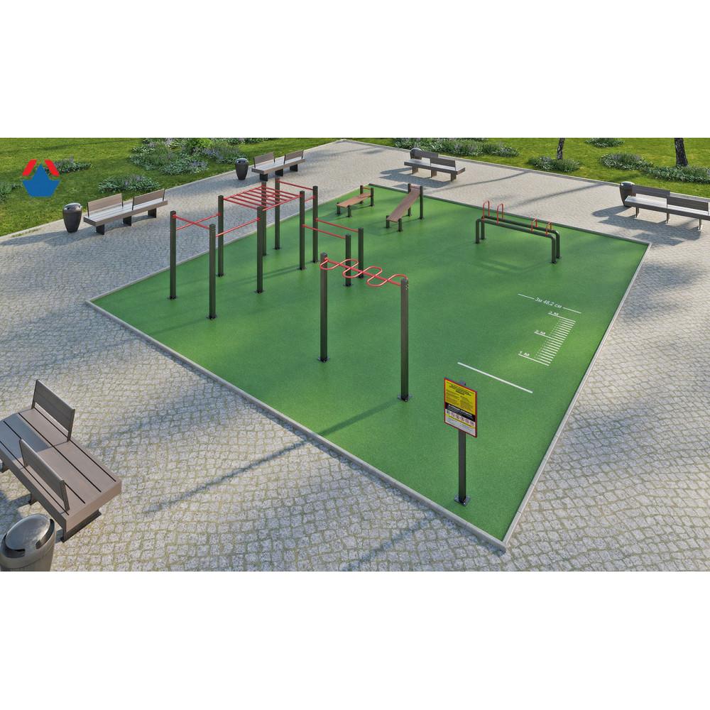 Площадка для сдачи спортивных норм №4