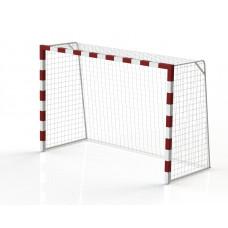 Ворота гандбол - минифутбол 3х2х1,3, стальной профиль квадратный 80х80мм (пара)
