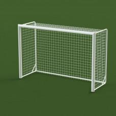 Ворота гандбол - мини-футбол 3х2х1 м., алюминиевый профиль овальный 100х120 мм.