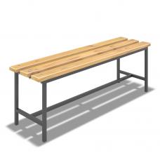 Скамейка для раздевалки (L=1200мм)